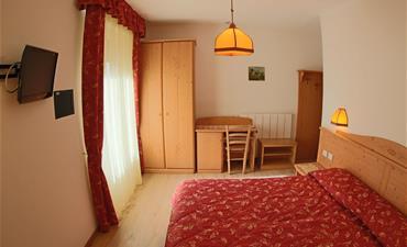 Hotel LIZ_dvoulůžkový pokoj