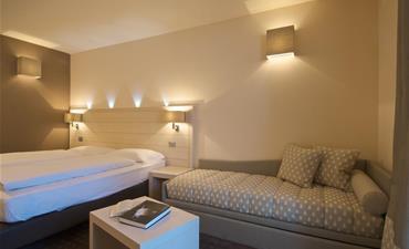 Hotel LE BLANC_dvoulůžkový pokoj s 1 přistýlkou