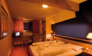 Hotel STOCKER_dvoulůžkový pokoj Vergissmeinnicht