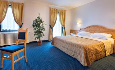 Hotel CRISTALLO_dvoulůžkový pokoj