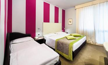 Hotel CLUB CRISTALLO_dvoulůžkový pokoj s 1 přistýlkou
