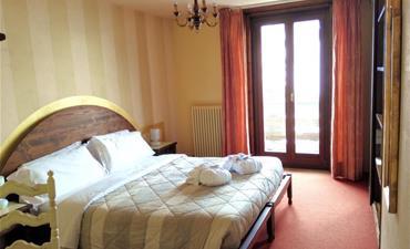 FREE SKI Hotel PARÉ_dvoulůžkový pokoj